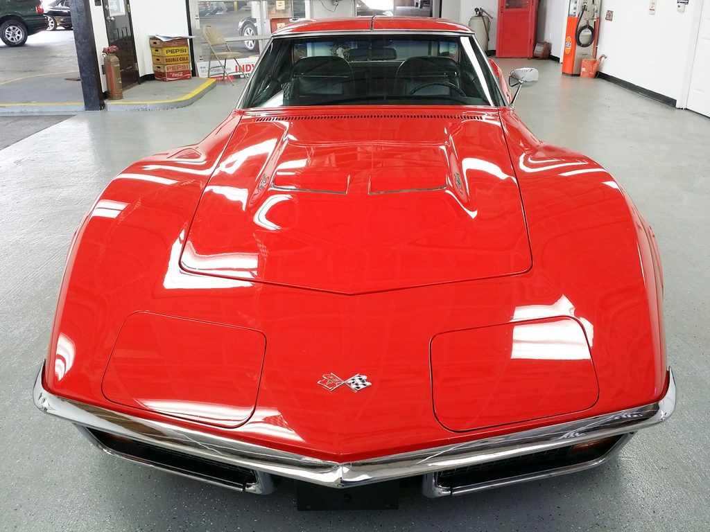 """1972 Corvette Coupe 454 Red coupe """"SOLD"""""""