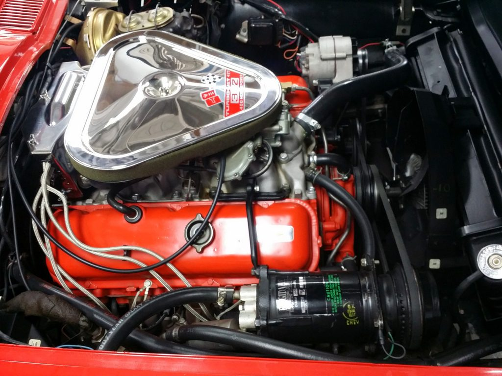 """1967 Corvette CV Rally Red/Red 427/400 hp Factory A/C """"SOLD"""""""