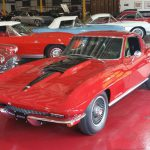 """1967 Corvette Coupe 427/390 hp """"A/C"""" Red/blk """"SOLD"""""""