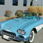 1960 Horizon Blue/blue (wht. coves) base engine with both tops